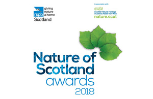 Nature of Scotland Awards 2018 Logo